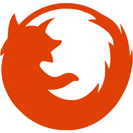Mozilla Firefox red