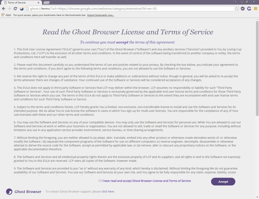 screen Ghost Browser 4