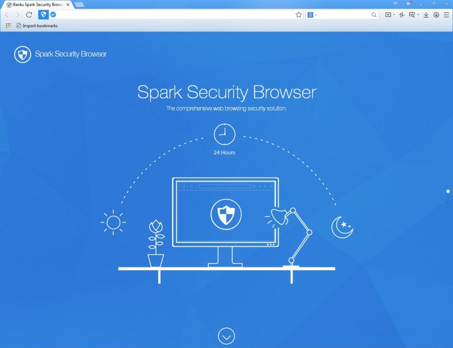 screen Spark Security Browser 1